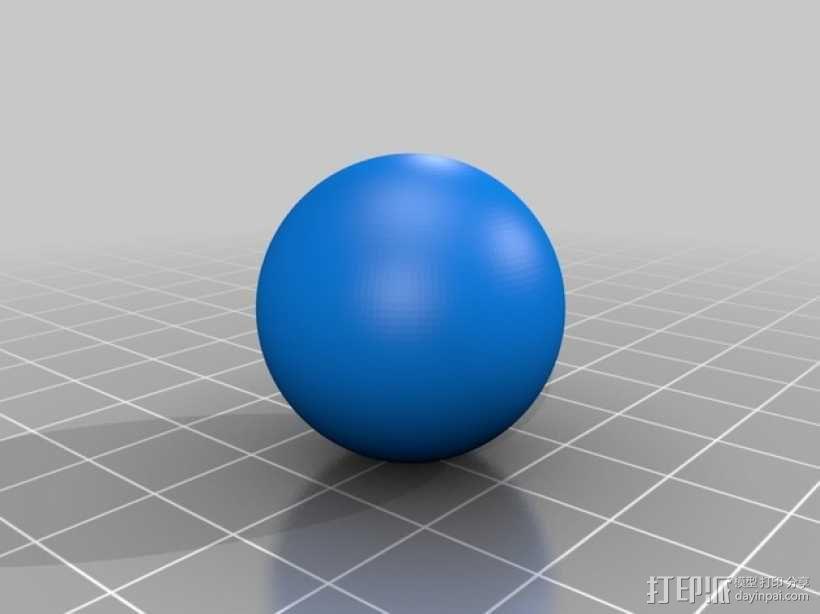 玩具空气管模型 3D模型  图4
