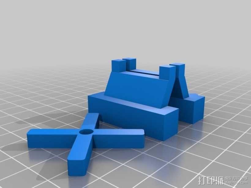 旋翼直升飞机玩具 3D模型  图3