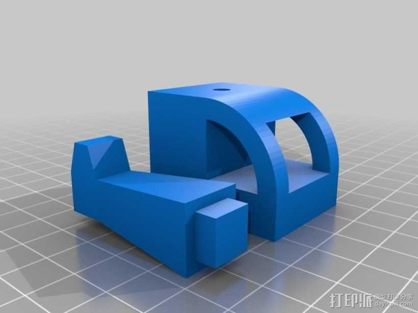 旋翼直升飞机玩具 3D模型  图2