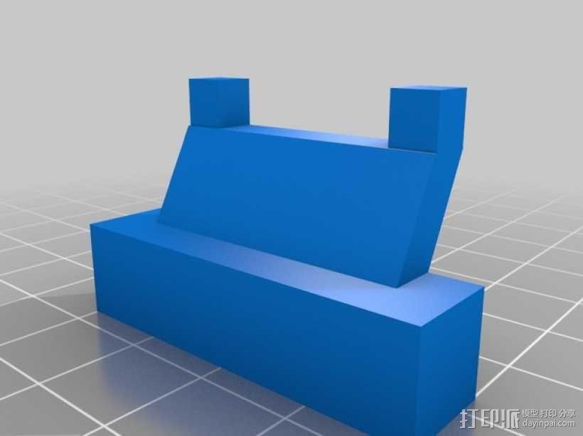 旋翼直升飞机玩具 3D模型  图4