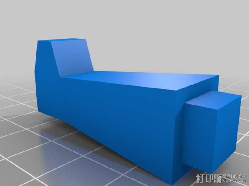 旋翼直升飞机玩具 3D模型  图8