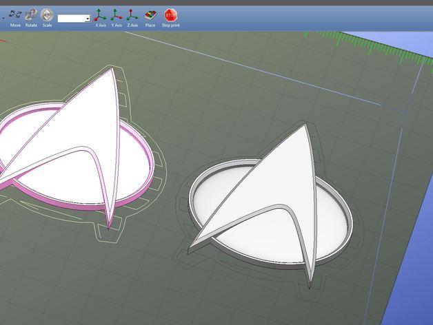 星际迷航:通信器 3D模型  图4