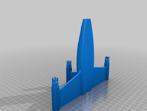宇宙飞船1模型 3D模型  图2