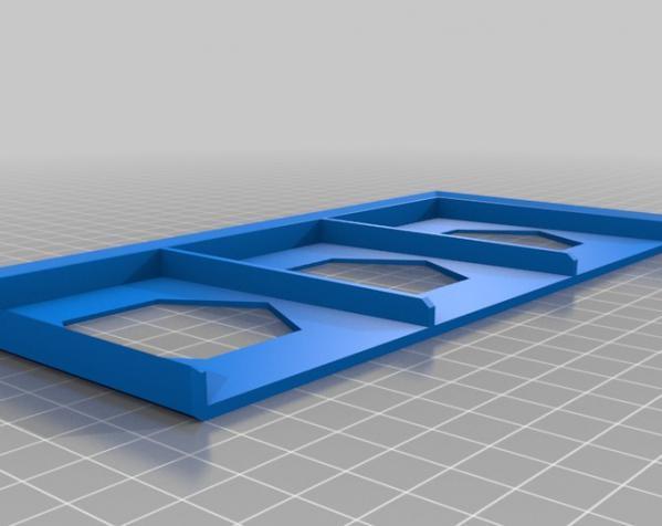 卡坦岛游戏卡盒模型 3D模型  图1