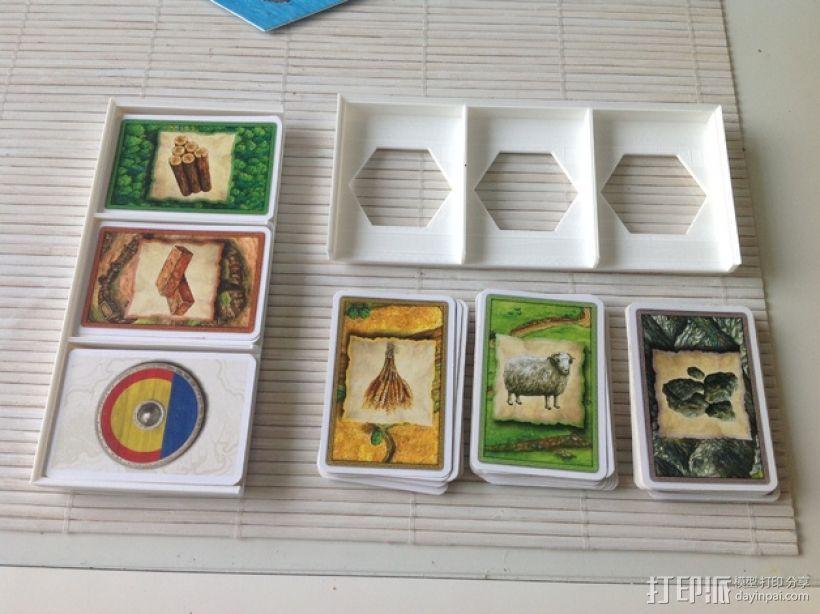 卡坦岛游戏卡盒模型 3D模型  图2