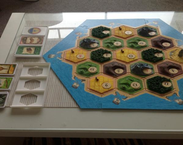 卡坦岛游戏卡盒模型 3D模型  图3