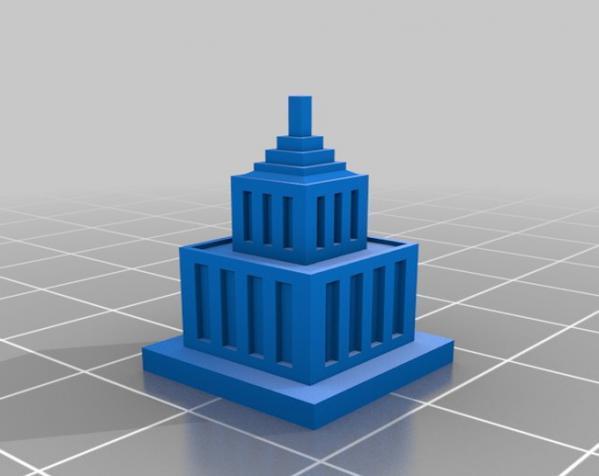 天诛:个性化建筑模型 3D模型  图2