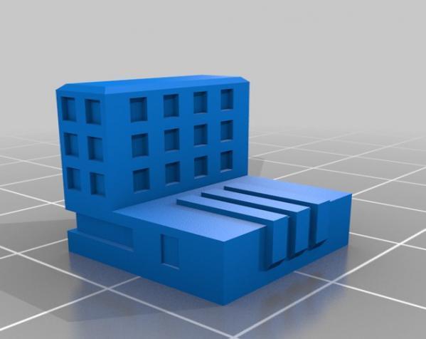 天诛:个性化建筑模型 3D模型  图5