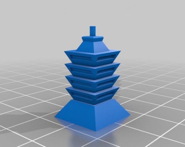 天诛:个性化建筑模型 3D模型  图7