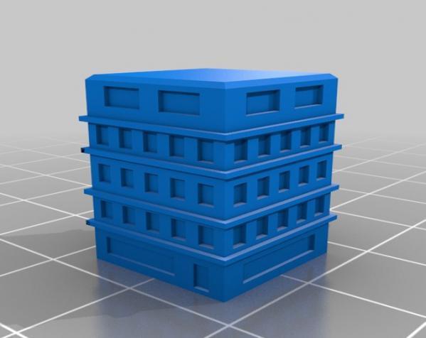 天诛:个性化建筑模型 3D模型  图8