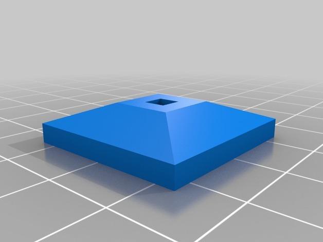 迷你船只舵轮模型 3D模型  图3