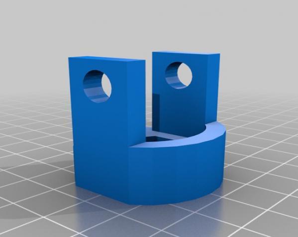 波比车配适器模型 3D模型  图5