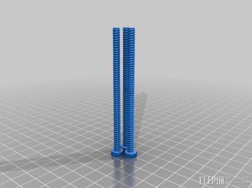 行星齿轮螺丝套件模型 3D模型  图1