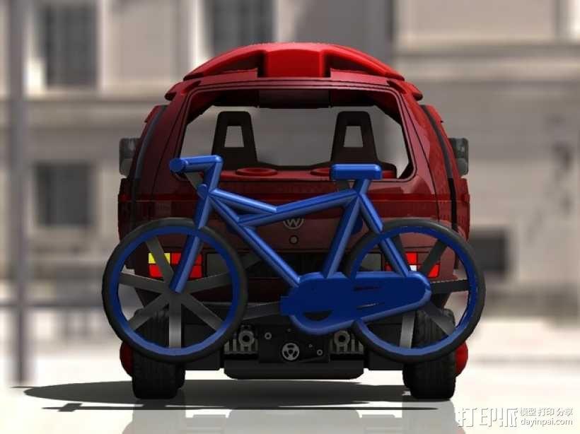 迷你大众T3玩具车模型 3D模型  图6