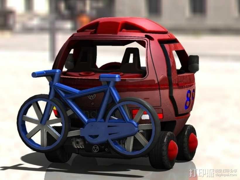 迷你大众T3玩具车模型 3D模型  图7