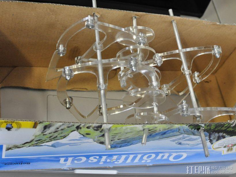 仿生兽行走装置 3D模型  图3