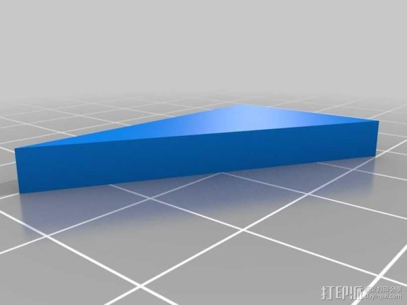 彩色简易拼图模型 3D模型  图6