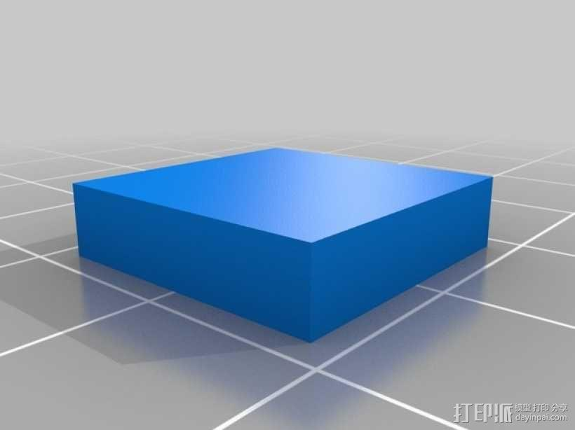 彩色简易拼图模型 3D模型  图5