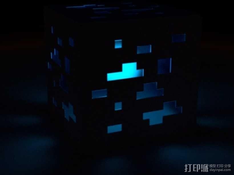 Minecraft:会发光的灯罩 3D模型  图1