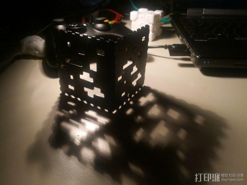 Minecraft:会发光的灯罩 3D模型  图3