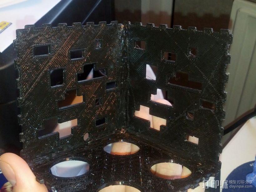 Minecraft:会发光的灯罩 3D模型  图4