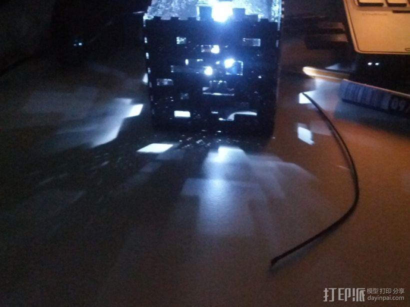 Minecraft:会发光的灯罩 3D模型  图9