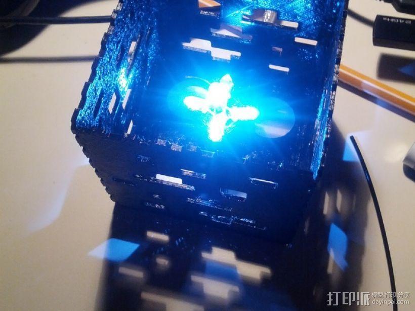 Minecraft:会发光的灯罩 3D模型  图7