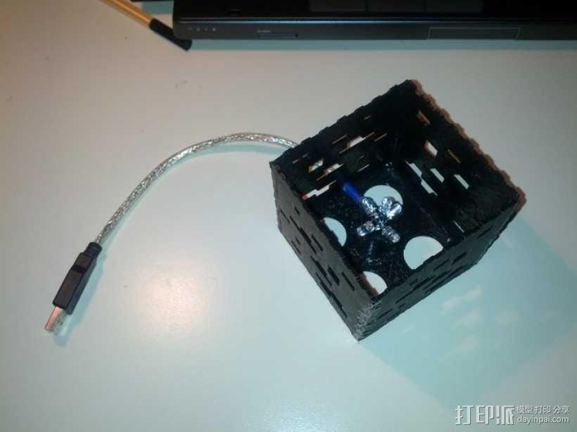 Minecraft:会发光的灯罩 3D模型  图10