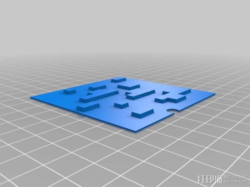 Minecraft:会发光的灯罩 3D模型  图11