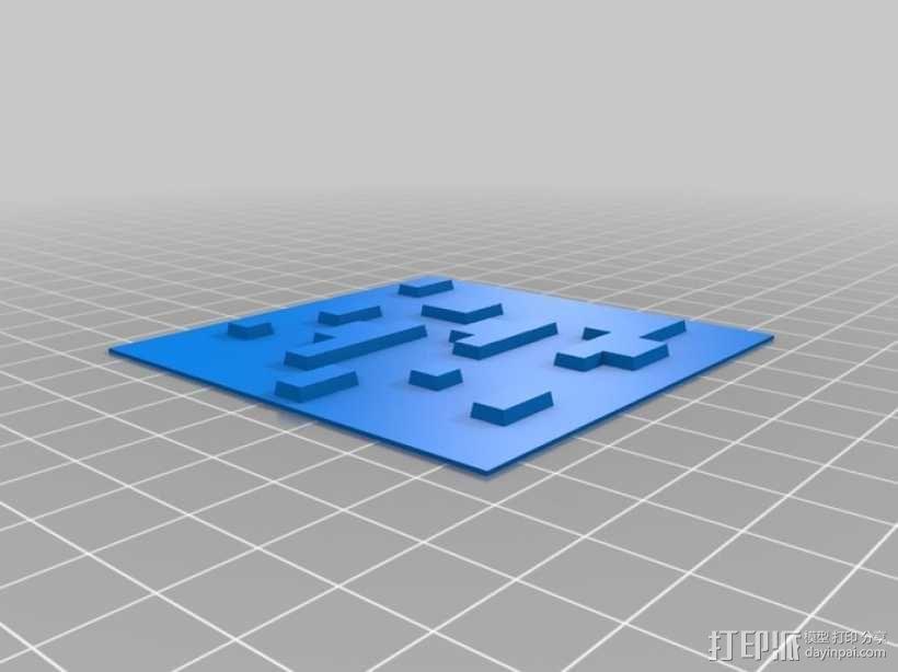 Minecraft:会发光的灯罩 3D模型  图12