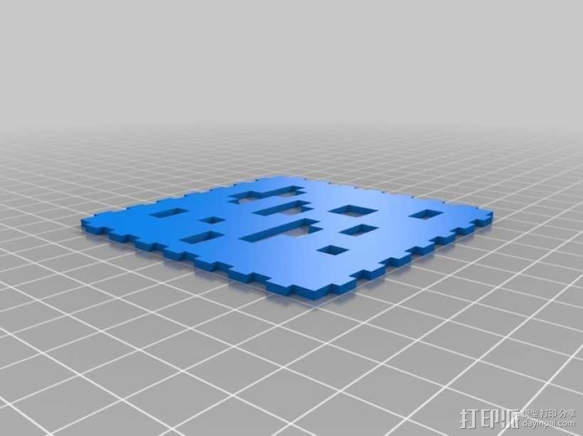 Minecraft:会发光的灯罩 3D模型  图17