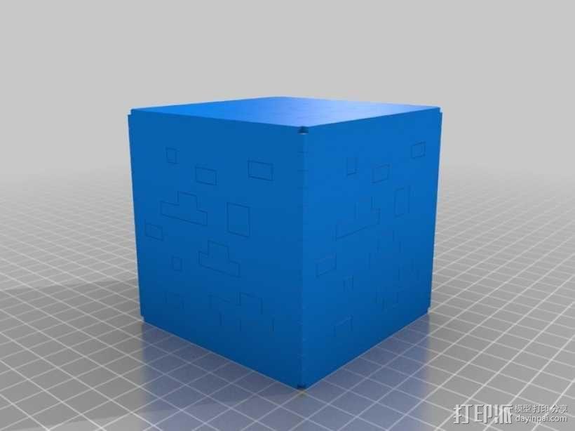 Minecraft:会发光的灯罩 3D模型  图19