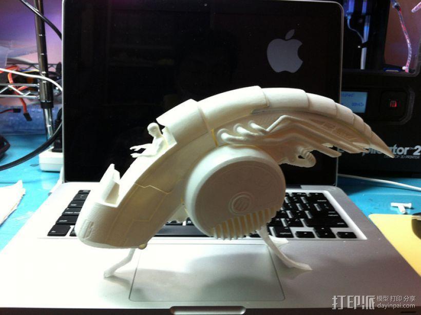 ALPHA迷你航空舱模型 3D模型  图2