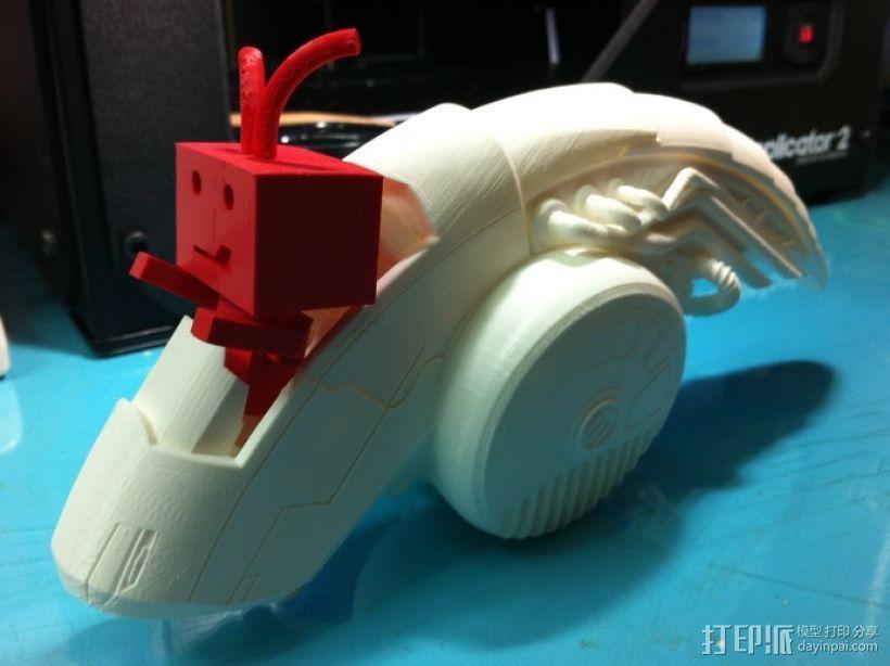 ALPHA迷你航空舱模型 3D模型  图5
