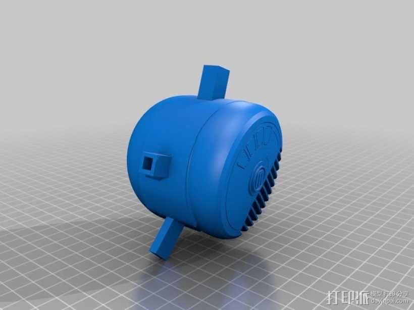 ALPHA迷你航空舱模型 3D模型  图13