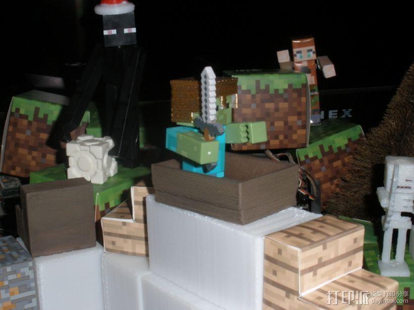 Minecraft人物玩偶船模型 3D模型  图5