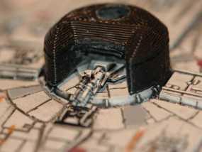 """X翼战机:""""千年隼号""""助力器模型 3D模型"""
