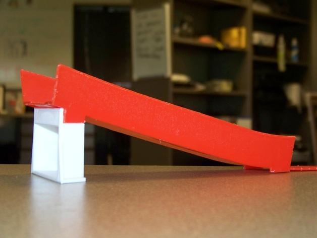 风火轮小汽车赛道支撑物 3D模型  图1
