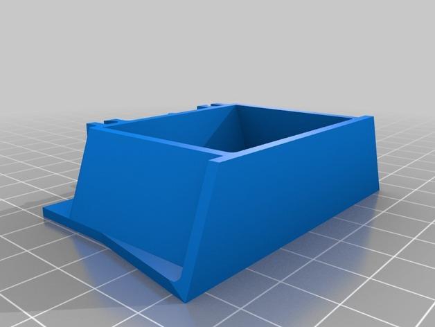 风火轮小汽车赛道支撑物 3D模型  图3