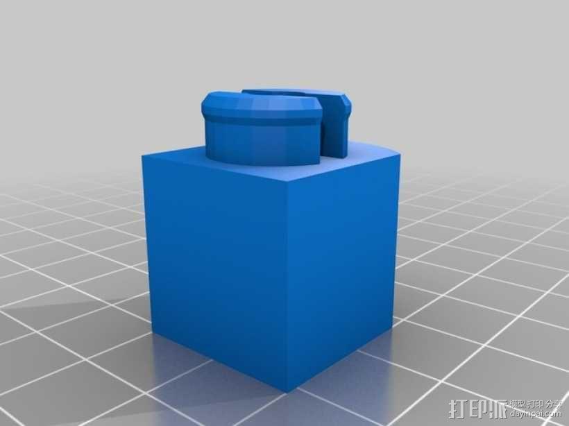 BlockBot v2机器人玩偶 3D模型  图10