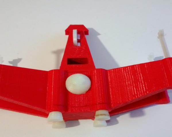 迷你翼战斗机模型 3D模型  图3
