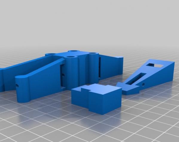 迷你翼战斗机模型 3D模型  图6