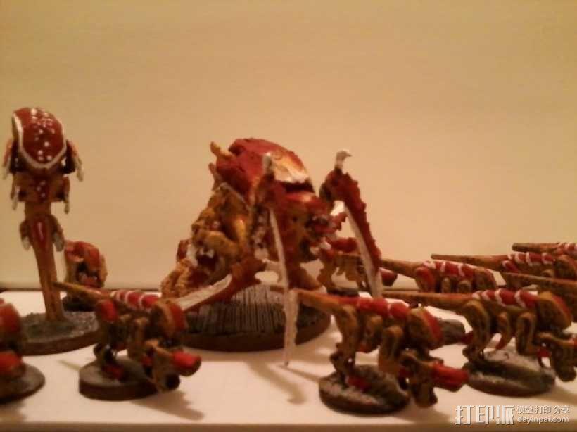 战锤40K:泰伦虫族侩子手 3D模型  图1