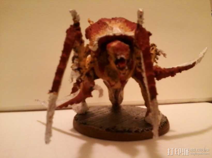 战锤40K:泰伦虫族侩子手 3D模型  图2