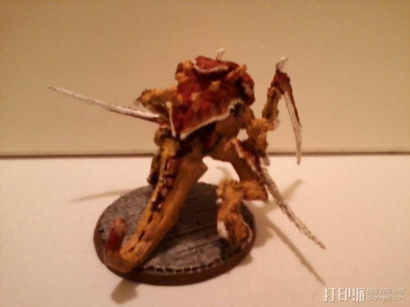 战锤40K:泰伦虫族侩子手 3D模型  图4