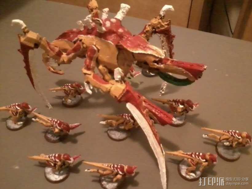 战锤40K:泰伦虫族泰坦巨虫 3D模型  图1