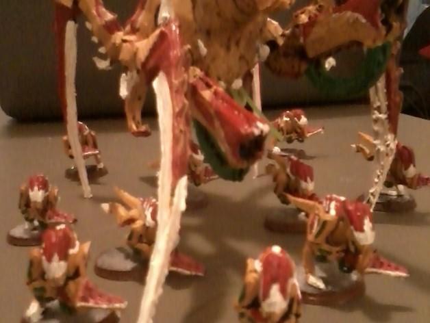战锤40K:泰伦虫族泰坦巨虫 3D模型  图2