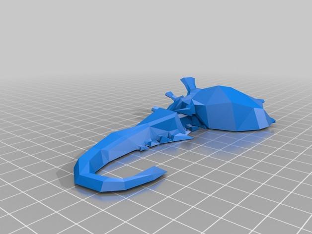 战锤40K:泰伦虫族泰坦巨虫 3D模型  图5
