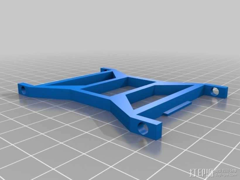 stretchlet坦克模型 3D模型  图1
