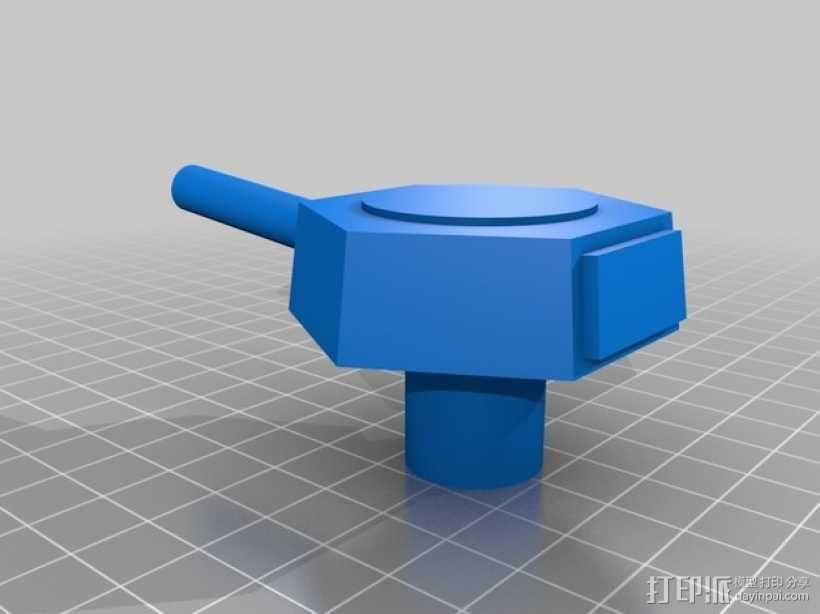 stretchlet坦克模型 3D模型  图5